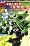 Transformers Regeneration One #87 Incentive Geoff Senior Variant Cover
