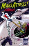 Mars Attacks Real Ghostbusters One Shot Incentive Mars Attacks Madman Variant Cover