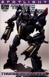 Transformers Spotlight Thundercracker Incentive Clayton Crain Variant Cover