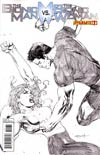 Bionic Man vs Bionic Woman #1 Incentive Ardian Syaf Sketch Cover