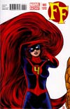 FF Vol 2 #3 Cover B Incentive Mike Allred Variant Cover