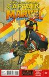 Captain Marvel Vol 6 #12 Regular Joe Quinones Cover