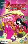 Adventure Time #6 Cover F New Ptg Connecting Regular Cover