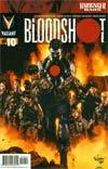 Bloodshot Vol 3 #10 Regular Mico Suayan Cover (Harbinger Wars Tie-In)