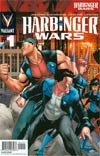 Harbinger Wars #1 Variant Clayton Henry Pullbox Interconnected Cover (Part 1 Of 3)