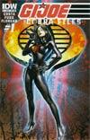 GI Joe Cobra Files #1 Variant Subscription Cover