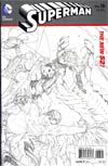 Superman Vol 4 #16 Incentive Kenneth Rocafort Sketch Cover (Hel On Earth Tie-In)