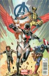 Avengers Vol 5 #5 Incentive Carlos Pacheco Variant Cover