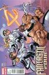 Fantastic Four Vol 4 #4 Incentive Terry Dodson Variant Cover