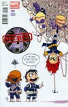 Secret Avengers Vol 2 #1 Variant Skottie Young Baby Cover