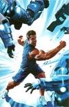 Bionic Man #16 Incentive Mike Mayhew Virgin Cover