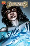 Damsels #3 High-End Aneke Crystal Ball Ultra-Limited Variant Cover (Only 25 In Existence)