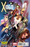 X-Men Vol 4 #1 Midtown Exclusive J Scott Campbell Variant Cover