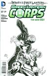Green Lantern Corps Vol 3 #17 Incentive Andy Kubert Sketch Cover (Wrath Of The First Lantern Tie-In)