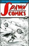 Spawn #228 Incentive Todd McFarlane Sketch Cover