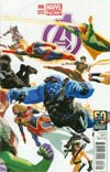 Avengers Vol 5 #6 Variant Daniel Acuna Avengers 50th Anniversary Variant Cover
