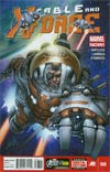Cable And X-Force #8 Regular Salvador Larroca Cover