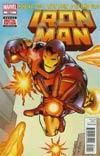 Iron Man #258.1 Regular Dave Ross Cover