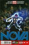 Nova Vol 5 #4 Regular Ed McGuinness Cover