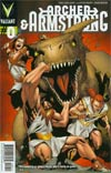 Archer & Armstrong Vol 2 #0 Regular Clayton Henry Cover