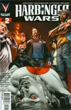 Harbinger Wars #2 Variant Lewis Larosa Pullbox Cover