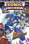 Sonic Universe #52 Regular Patrick Spaz Spaziante Cover (Worlds Collide Part 5)