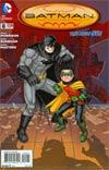 Batman Incorporated Vol 2 #8 Variant Chris Burnham Cover