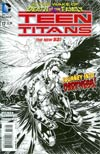 Teen Titans Vol 4 #17 Incentive Brett Booth Sketch Cover