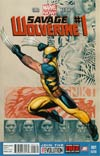 Savage Wolverine #1 2nd Ptg Frank Cho Variant Cover
