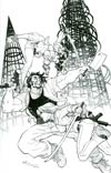 Freelancers #4 Incentive Reilly Brown Virgin Sketch Cover
