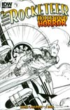 Rocketeer Hollywood Horror #1 Incentive Walter Simonson Sketch Cover