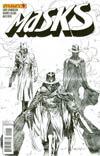 Masks #4 Incentive Ardian Syaf Black & White Cover