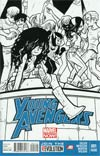 Young Avengers Vol 2 #1 Cover E 2nd Ptg Bryan Lee O Malley Sketch Variant Cover