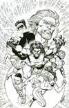Hypernaturals #9 Incentive Tom Derenick Virgin Sketch Cover