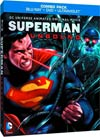 Superman Unbound Blu-Ray Combo DVD