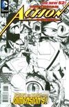 Action Comics Vol 2 #18 Incentive Rags Morales Sketch Cover
