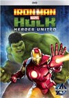 "Marvel Iron Man And Hulk Heroes United DVD  <font color=""#FF0000"" style=""font-weight:BOLD"">(CLEARANCE)</FONT>"