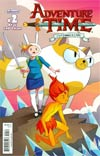 Adventure Time Fionna & Cake #2 2nd Ptg