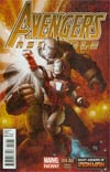 Avengers Assemble #14AU Incentive Many Armors Of Iron Man Variant Cover (Age Of Ultron Tie-In)