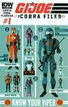 GI Joe Cobra Files #1 Incentive Cobra Graphic Variant Cover