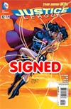 Justice League Vol 2 #12 Cover H DF Signed By Scott Williams