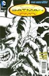 Batman Incorporated Vol 2 #10 Incentive Chris Burnham Sketch Cover