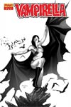 Vampirella Vol 4 #29 High-End Paul Renaud Black & White Ultra-Limited Cover (ONLY 50 COPIES IN EXISTENCE!)