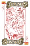 Damsels #5 High-End Joseph Michael Linsner Rose Red Ultra-Limited Cover (ONLY 25 COPIES IN EXISTENCE!)