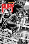 Miss Fury Vol 2 #2 Incentive Wagner Reis Black & White Cover