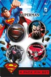 DC 4-Pack Pin Set - Superman