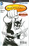 """Batman Incorporated Vol 2 #11 Incentive Chris Burnham Sketch Cover  <font color=""""#FF0000"""" style=""""font-weight:BOLD"""">(CLEARANCE)</FONT>"""