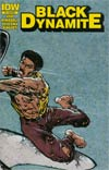 Black Dynamite #1 Cover B Variant Punch The Shark Wraparound Subscription Cover