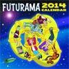 Futurama 2014 12-Month Calendar
