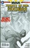 Trinity Of Sin Pandora #2 Cover B Incentive Ryan Sook Sketch Cover (Trinity War Tie-In)